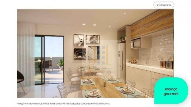 Apartamento com 2 dormitórios à venda, 48 m² - Cidade Industrial - Curitiba/PR - Foto 3