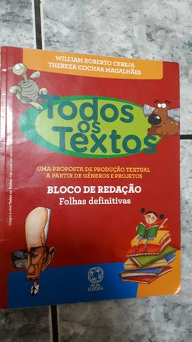 Livro Todos os Textos 7° ano - Foto 3