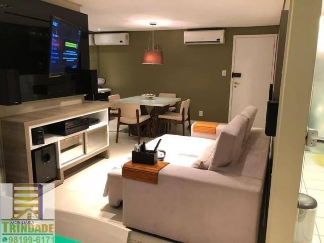 Apartamento Na Ponta Do Farol _Vista Mar _ Todo Projetado -2 Quartos - Foto 3