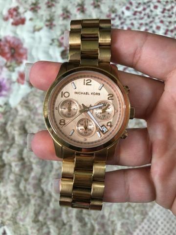 Relógio Feminino Michael Kors - Rosé - Aceito cartão - Bijouterias ... 7092112847