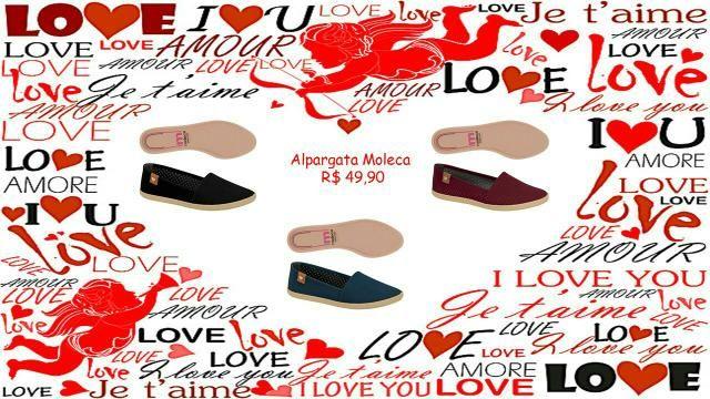 55a795c3c Promoção/ Calçados & Bolsas ( Dia dos Namorados ) - Roupas e ...
