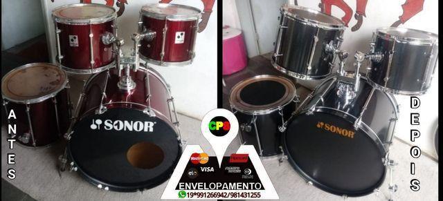 ENVELOPAMENTO E POLIMENTO DE INSTRUMENTOS MUSICAIS  - Foto 3