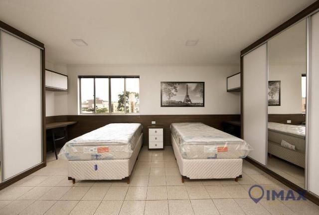 Apartamento com 1 dormitório para alugar, 45 m² por R$ 1.500,00/mês - Centro - Foz do Igua - Foto 16