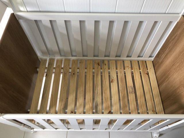 Berço mini cama Reller + colchão - Foto 4