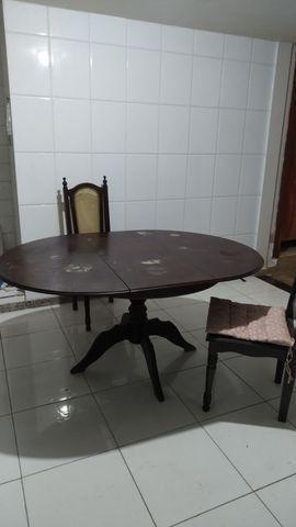 Mesa em madeira maciça - Foto 2
