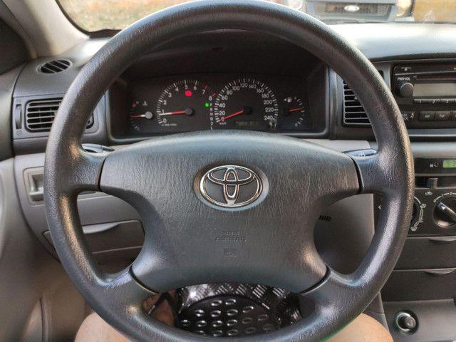 Corolla XEI 2008 azul flex automático completo - Foto 7
