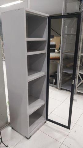 Armário em Aço com 1 porta para vidro - Oferta de produto de mostruário ótimo valor. - Foto 2