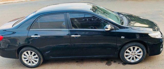 Corolla 2011/2012 cor preto perolizado - Foto 5