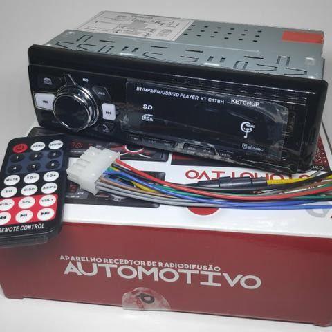 Rádio Automotivo Pen Drive Cartão De Memória E Recebe Chamada - Foto 3