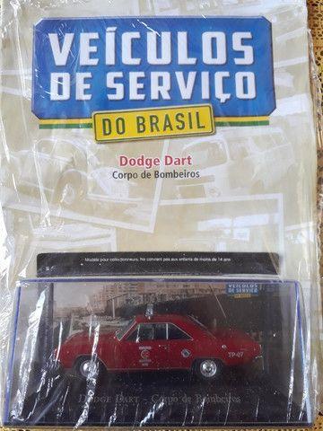 Miniatura Veículos De Serviço -Dodge Dart Corpo De Bombeiros + Fascículo (Lacrada)