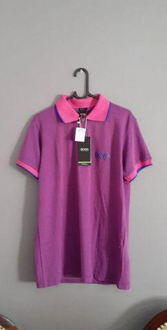 Camisa  Polo Hugo Boss M ( nova / original )