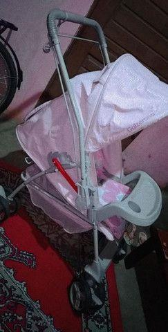 Vendo Carrinho de bebê - Foto 5