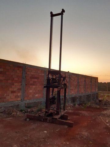 Máquina de Brunir pistão hidráulico ou furar poço artesiano - Foto 3
