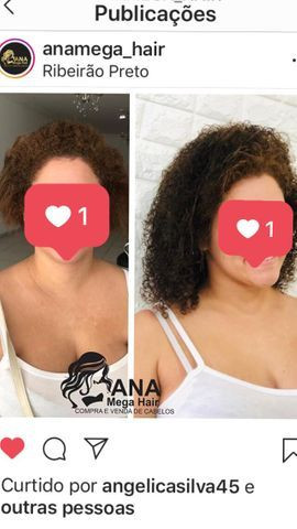 Cabelo humano (Mega Hair) cacheado - Foto 2
