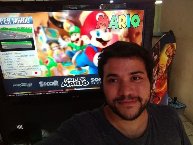 Fliperama arcade portátil c/ 14 mil jogos{{loja física a mais de 15 anos}} - Foto 2