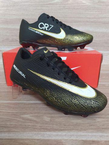 Chuteira Campo Nike Black
