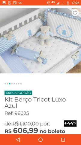 Kit berço luxo - Foto 5