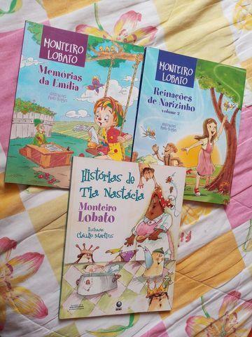 Livros Sítio do Picapau Amarelo clássicos