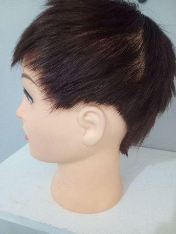 Cabeça para exposição de peruca Lace Front - Foto 4