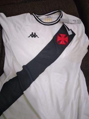 Camisa do Vasco ll Branca 20/21 - Foto 2