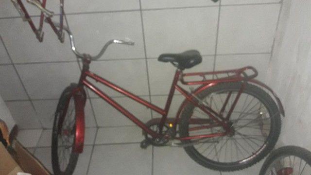 Bicicleta vendo ou troco por celula a20 j4  - Foto 4