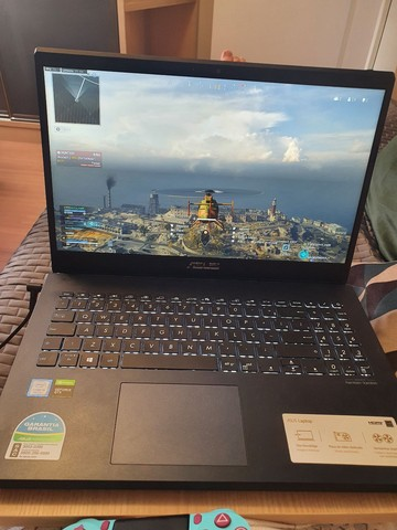 Notebook Gamer/Pro Asus x571GT / FHD 120 Hz / GTX 1650 4GB / I5  / SSD 256 + 1tb HD  - Foto 5