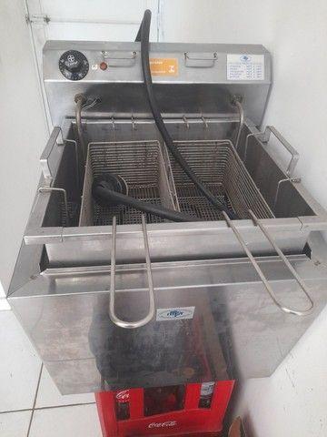 Fritador Elétrico Agua e Oleo - Foto 3