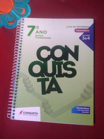Livros Conquista 7° ano  - Foto 3