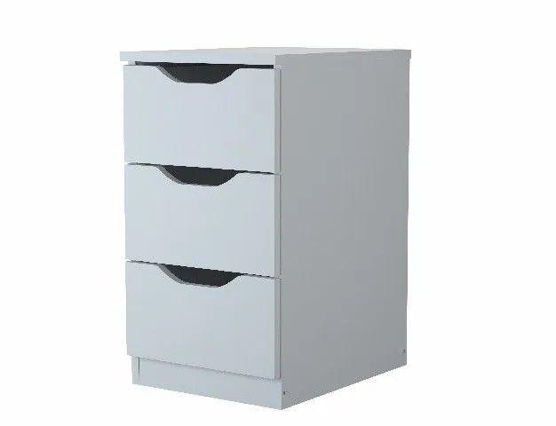 Gaveteiro com 3 gavetas armário - Foto 2
