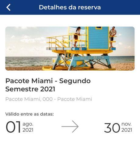 Viagem para Miami para o mes de novembro com tudo incluso