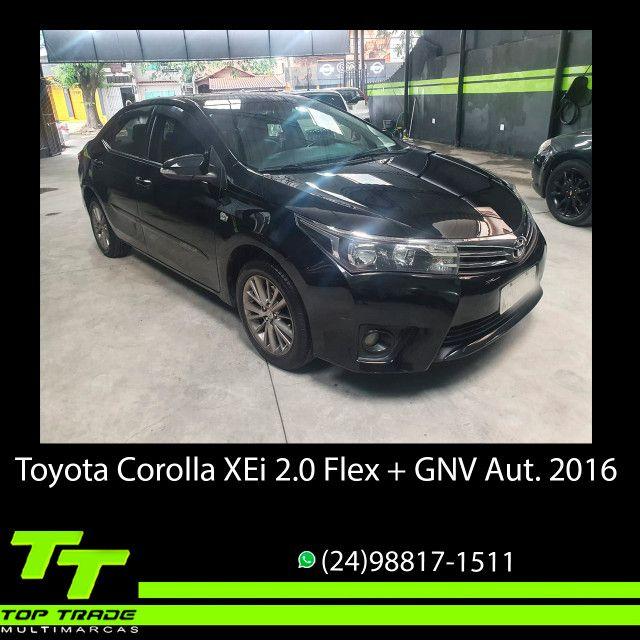 Toyota Corolla XEi 2.0 Flex + GNV Automático 2016 - Foto 2