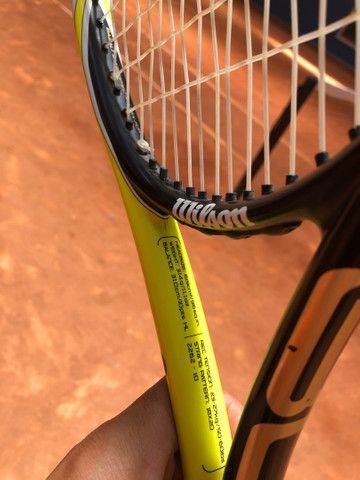 Raquete blz pro tour, muito boa de jogar feita especialmente para del potro, - Foto 4