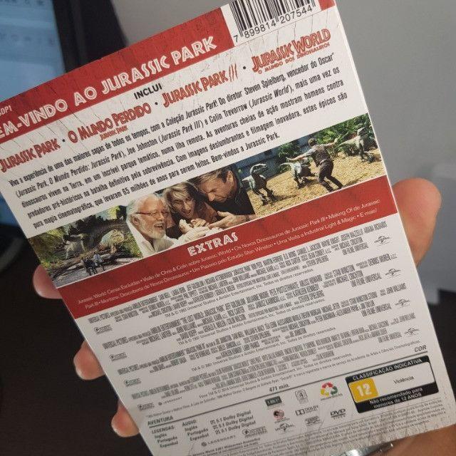 Coleção: Jurassic Park (5 Filmes) - Foto 4