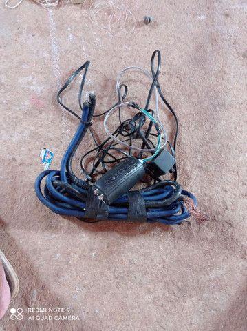 Vendo todos esses itens  cabo eca e cabo de bateria valor 100 reais - Foto 5