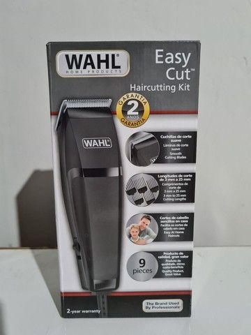 Máquina de cortar cabelo wahl easy cut barbeiro salão curso - Foto 3