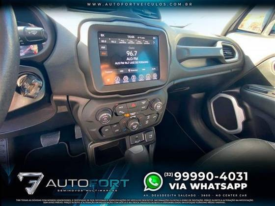 RENEGADE 2019/2019 1.8 16V FLEX LONGITUDE 4P AUTOMÁTICO - Foto 16