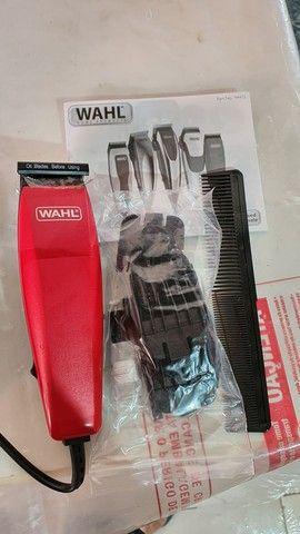 Máquina de cortar cabelo wahl easy cut barbeiro salão curso - Foto 2