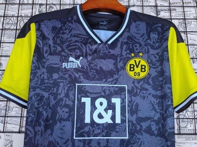 Camisa Dortmund 2021/22 Edição limitada - Foto 2