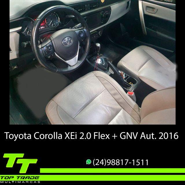 Toyota Corolla XEi 2.0 Flex + GNV Automático 2016 - Foto 10