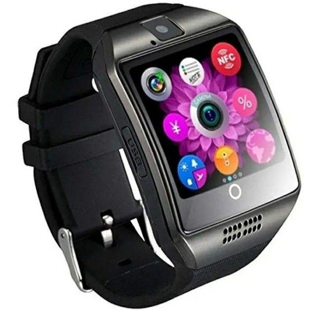 Relógio Smart Watch Q18  Celular Android