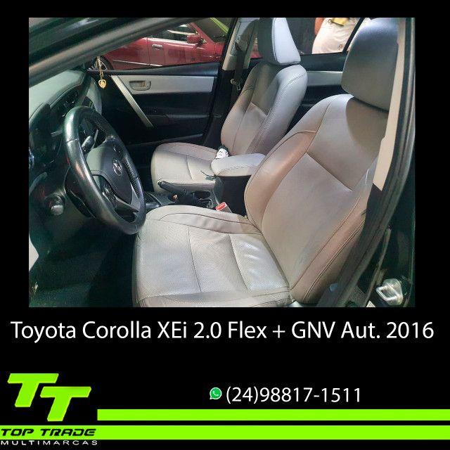 Toyota Corolla XEi 2.0 Flex + GNV Automático 2016 - Foto 9