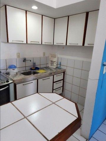 Flat na praia para temporada, quarto e sala, em Jaboatão, região Metropolitana de Recife - Foto 5