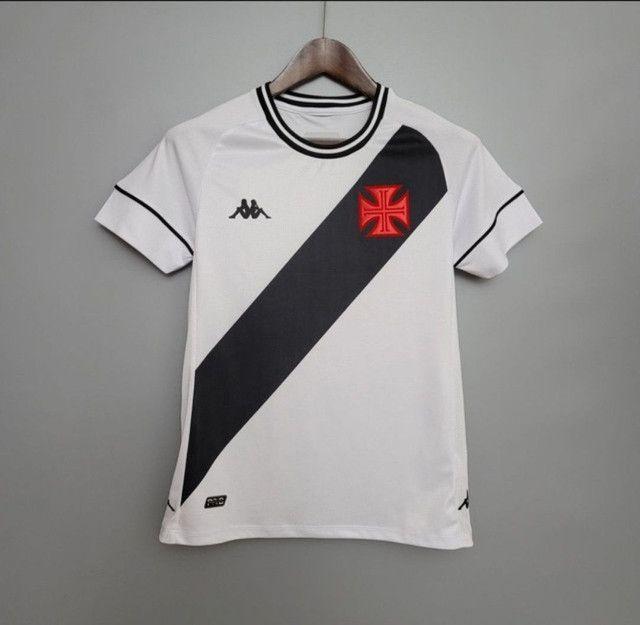 Camisa do Vasco ll Branca 20/21 - Foto 4