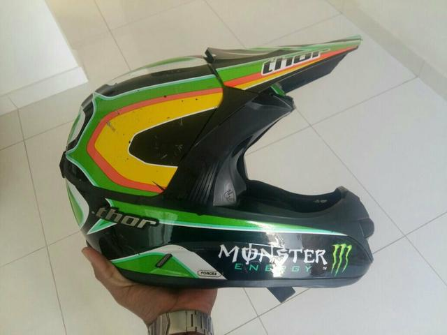 Capacete Thor monster energy