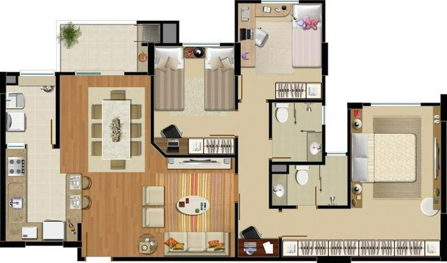 Apartamento no bairro Anita Garibaldi - Foto 7