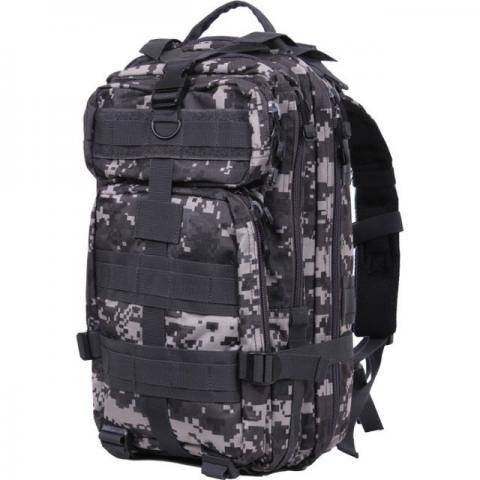 Mochila Tática Militar Assalt 30l Profissional 3d Black Camo