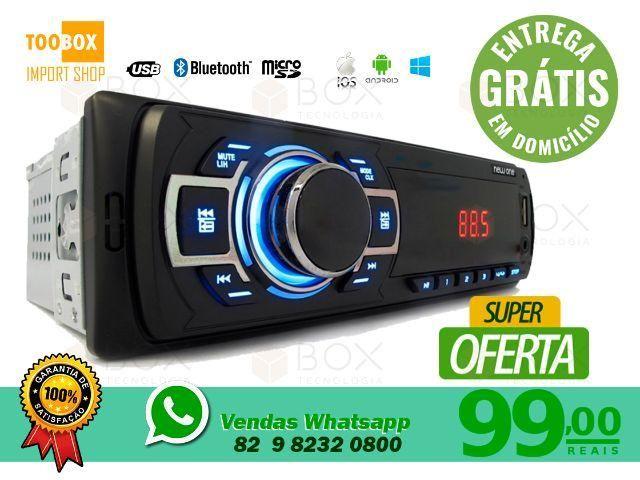 Som Automotivo First Class, SD, USB, FM/AM - Entrega Grátis