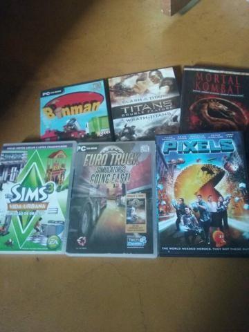 Jogos p/ PC + filmes