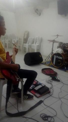 Guitarrista para banda gospel
