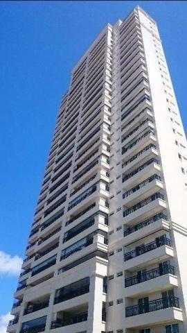 Excelente apartamento no Solar Alta Vista, Capim Macio. Apartamento com ampla varanda